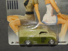 HW HOT WHEELS 2012 NOSE ART DAIRY DELIVERY HOTWHEELS GREEN VHTF RARE REAL RIDERS
