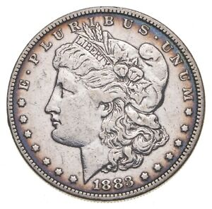 1883 Morgan Silver Dollar - US Coin *759