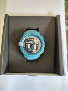 Garmin Instinct Rugged Outdoor Watch With GPS - Lakeside Blue