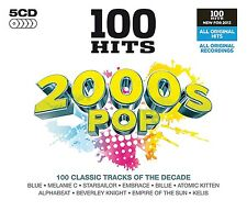 100 GREATEST HITS 2000s ( THE NOUGHTIES ) POP BRAND NEW SEALED 5CD BOX SET