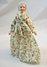 Porcelain Doll Victorian Grandmother dollhouse miniature 1/12 scale  G7675