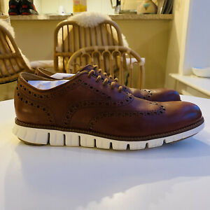 Brand New In Box Cole Haan ZERØGRAND Wingtip Oxford 8.5M