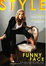 STYLE Magazine 5/07/2015 AMY POEHLER Gal Gadot AA GILL & FURR Madi Fogg  @NEW@