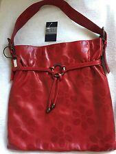 Guilli genuine leather red shoulder bag - BNWT