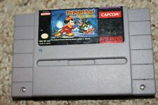 Magical Quest Starring Mickey Mouse (Super Nintendo SNES) Cart Only GREAT Shape