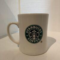 Starbucks Coffee Mug Cup First Starbucks Store 2002 Seattle Tea Spices Used