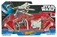 Star Wars Hot Wheels Tie Fighter vs Ghost Die Cast Set New in Original Package
