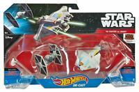 Star Wars Hot Wheels Tie Fighter vs Ghost Die Cast Set New in Original Package