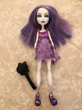 "Monster High 11"" Doll SPECTRA VONDERGEIST DEAD TIRED PAJAMAS SLIPPERS Lot"