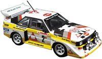 AOSHIMA Beemax 1:24 Audi Sport Quattro S1E2 86' Monte Carlo Rally Ver. Model Kit