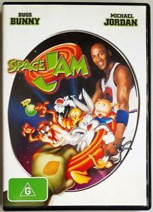 Space Jam (DVD) Michael Jordan & Bugs Bunny (Australian Region 4 PAL)