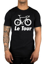 Le Tour Bike Silhouette 2015 De France NEW T-shirt Racing Cycling Mens Unisex
