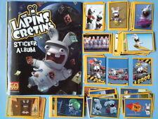 Lapins Crétins Album + 1 set complet images non collées Panini 2011 rare