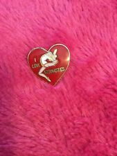 I Love Gymnastics Lapel Pin