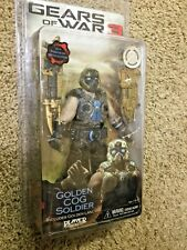 Gears Of War 3 - GOLDEN COG SOLDIER (NECA - Toys R Us Exclusive)