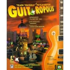 Guitropolis PC MAC teach yourself play guitar read sheet music TAB notation game