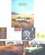 Mazda RX-4 Rotary 1973-74 Original UK Sales Brochure