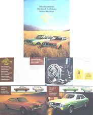 Mazda RX-4 Rotary 1973-74 Original UK Sales Brochure