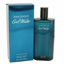 Authentic Cool Water Cologne by Davidoff for Men EDT 6.7 oz New In Box