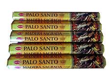 Palo Santo Incense Stick Joss HEM Brand x 5 Boxes -100 Sticks-Export Grade