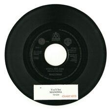 """Madonna-vous verrez (modifier & instrumental) 7"""" vinyl jukebox promo unique (Ex)"""