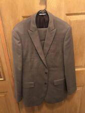Perry Ellis Portfolio 2 Piece Suit - Jacket 42L Pants 34W