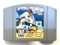 All Star Baseball 2000 NINTENDO 64 N64 Game TESTED + WORKING & AUTHENTIC!