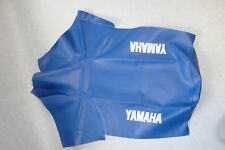 Motorcycle seat cover - Yamaha XT600E 3TB in blue 1995-97