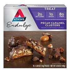 Atkins Endulge Treat, Pecan Caramel Clusters. 10 Count.