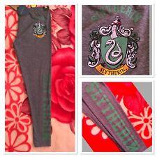 Ladies Primark Harry Potter SLYTHERIN Leggings Pyjama bottom Women's Bnwt.