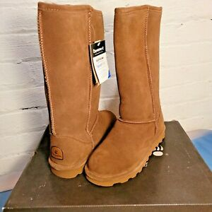"""Bearpaw Boots! Women's Elle 12"""" Tall Boots (Size 8, Hickory 11 ) """"NEW"""" With Box"""