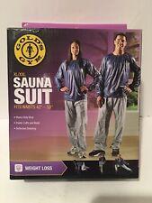 """Golds Gym Sauna Suit XL/XXL Fits Waist 42"""" - 50"""" NIB"""