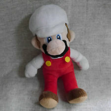 "Super Mario Bros. Plush doll White edition Mario 8""  Stuffed Animal"