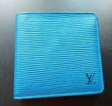 Louis Vuitton Vintage Blue Epi Leather Marco Bi-fold Wallet