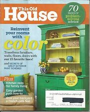 This Old House Magazine - May 2012 - Paint color, Kitchen Redo, Garden +
