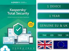Kaspersky Total Security 1 PC or Device 1 Year - EU & UK Genuine Emailed