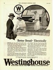 1921 Orig Vintage Westinghouse Bread Baking & Heating Machinery Magazine Ad (M)