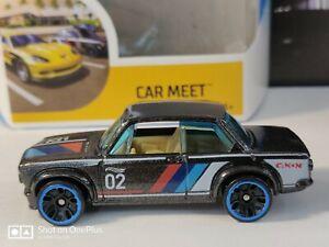 2020 Hot Wheels BMW 2002  Metalflake Black from Car Meet 5 Pack