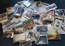 Karton voller alter Postkarten, über 680 Stück, große Ansichtskarten – Sammlung