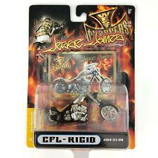 Jesse James West Coast Chopper CFL-RIGID Custom Motorcycle Bike Black 1/31 Scale