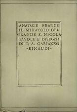 GARIAZZO - France Anatole, Il miracolo del grande S. Nicola
