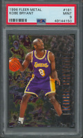 1996 Fleer Metal Kobe Bryant #181 PSA 9 Lakers Rookie RC Card (49144150)