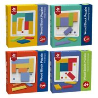 PINWHEEL Wooden Block Logical Thinking Puzzle Enlightenment Early Education P8U3