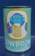 Vintage Low Brow Freshul Beer Cigarette Lighter Holder Tin Can Lowbrow