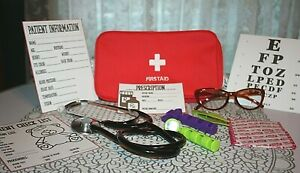 Pretend Play Medical Doctor Nurse Toy Kit Set # 2 - NEW!