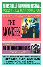 Monkees Replica 1967 Concert Poster