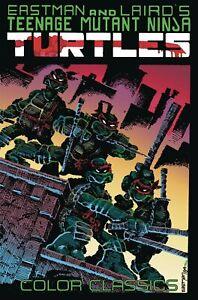 TEENAGE MUTANT NINJA TURTLES COLOR CLASSICS VOL #1 GRAPHIC NOVEL  Comics IDW TPB