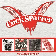 COCK SPARRER - THE ALBUMS 1978-87: 4CD CLAMSHELL BOXSET [CD]