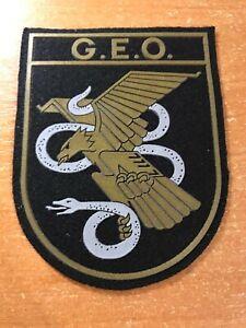 SPAIN PATCH POLICE POLICIA NACIONAL SWAT SRT  G.E.O. - ORIGINAL