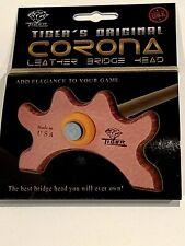 TIGER PRODUCTS CORONA LEATHER BRIDGE HEAD BRAND NEW FREE TIP FREE SHIPPING